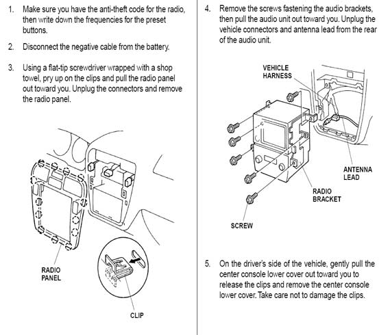 car stereo radio wiring diagram 2000 acura cl html