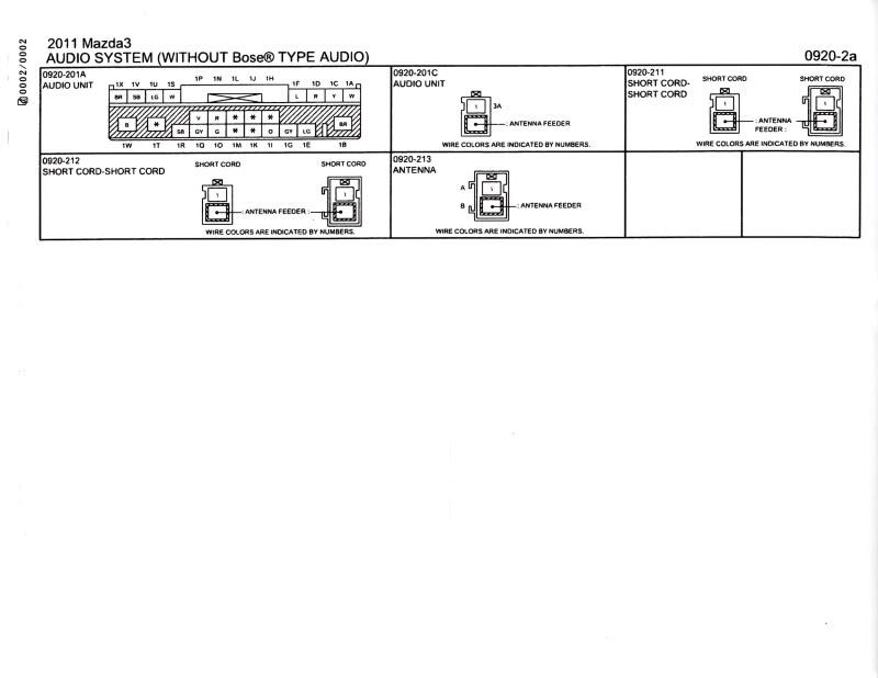 stereo wiring diagram 2005 mazda 3 wiring diagram data