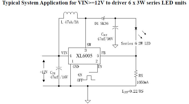 12v Led Circuit Diagram Switching Constant Current Driver
