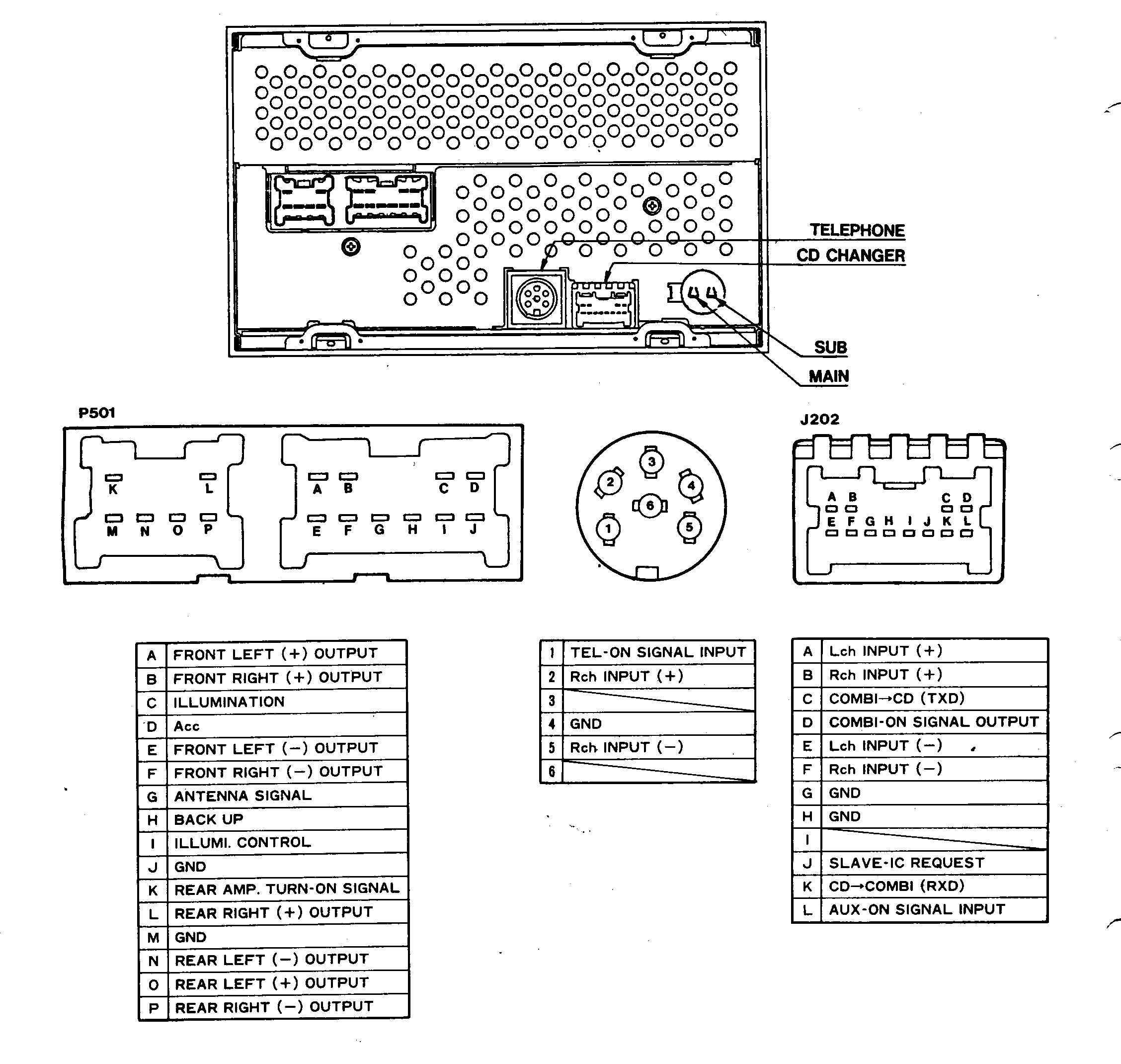 1994 Nissan Pathfinder Radio Wiring Diagram from tehnomagazin.com